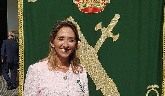 Condecoración Maite Boyero