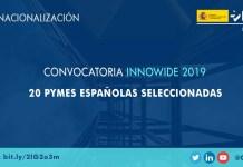 20 empresas españolas seleccionadas innowide 2019