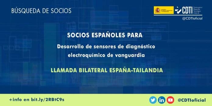 busqueda socios proyecto diagnostico electroquimico