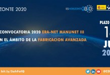 convocatoria 2020 era-net manunet