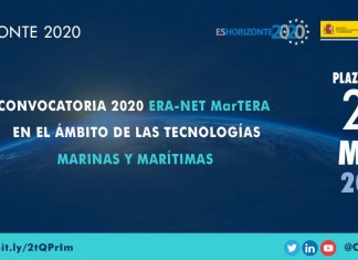 convocatoria 2020 era-net martera
