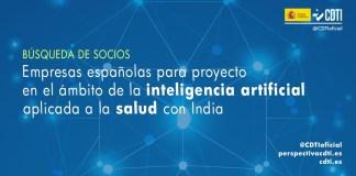 busqueda socios inteligencia artificial salud india