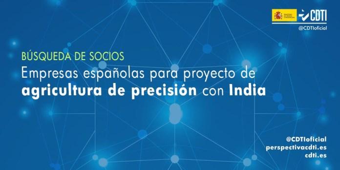 busqueda socios españoles agricultura de precision