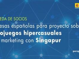 """Búsqueda de socios españoles para colaborar en un proyecto de videojuegos """"hiper casuales"""" con Singapur"""