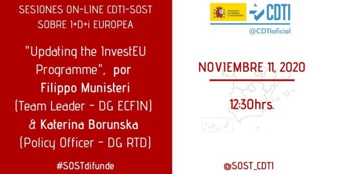 sesión CDTI-SOST InvestEU