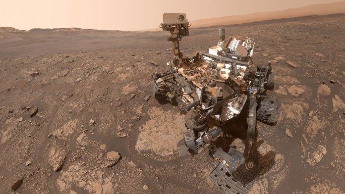 Foto NASA. Rover Curiosity