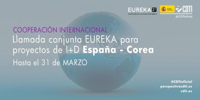 llamada eureka españa-corea 2021