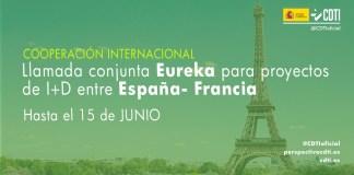sexta llamada eureka españa-francia de cooperación tecnológica internacional