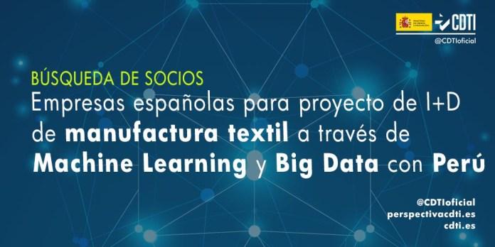 búsqueda de socios manufactura textil con Perú