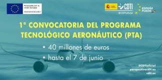 Programa tecnológico Aeronáutico convocatoria 2021