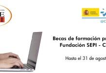 becas fundacion SEPI CDTI