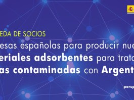 busqueda socios materiales adsorventes tratamiento aguas contaminadas con Argentina