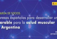 búsqueda socios wearable salud muscular con Argentina