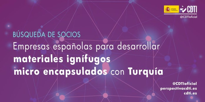 busqueda socios materiales ignifugos con Turquñia