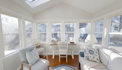 Sunroom Renovation | The Georgia Pear Interiors 3D Model