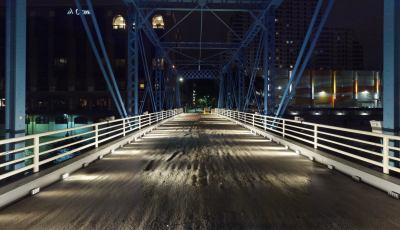 Voice Bridge @ The Blue Bridge | Rafael Lozano-Hemmer