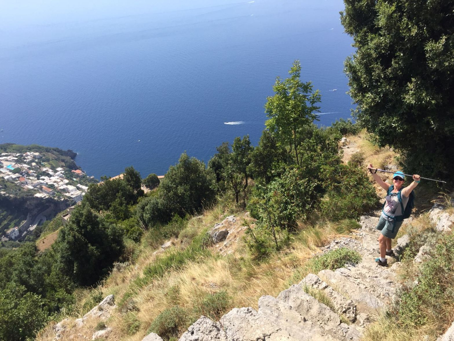 Exploring a new career path with Perspective Hive... (photo taken on the Walk of the Gods, Positano, Italy)