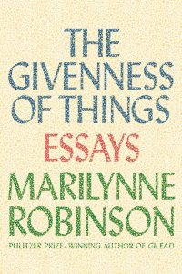 Cover - Robinson - The Givenness of Things