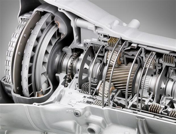 BMW 8 speed