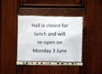 The longest lunch. A nightmare for those of us keen on visiting museums. I was there in May... Photo: Per Storemyr