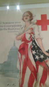 WWI red cross promo