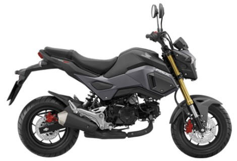 All New Honda MSX 125 GROM 2016 warna eclipse black pertamax7.com
