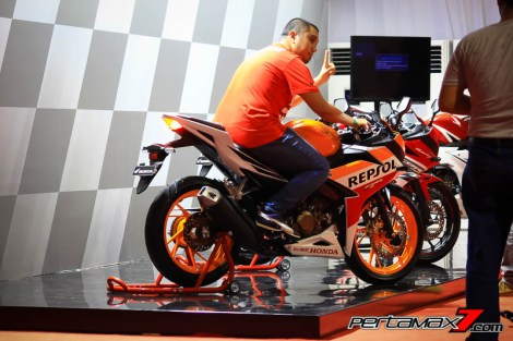 Gallery Launching All New Honda CBR150R 2016 di Sentul 09 Pertamax7.com