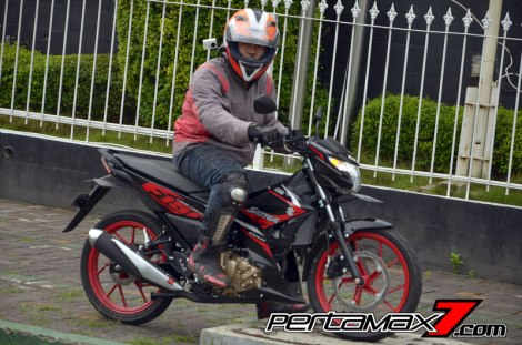 Review Testride All New Suzuki Satria F 150 Injeksi 2016 11 Pertamax7.com