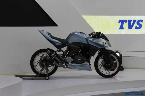 TVS X21 Concept From Apahce RTR 200 Auto Expo 2016 02 Pertamax7.com