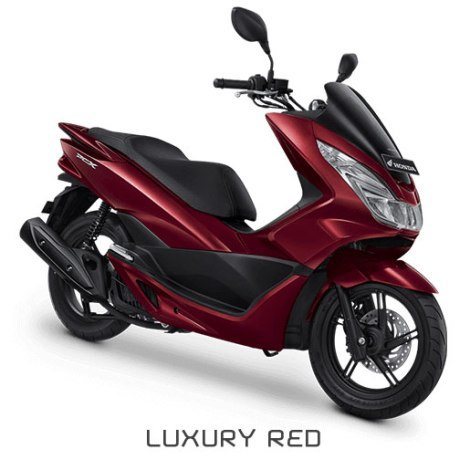 honda pcx merah luxury red pertamax7.com