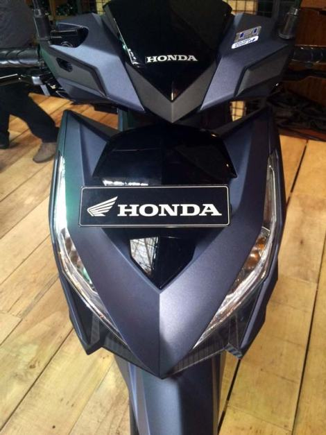 new honda vario 150 Exclusive Matte Blue pertamax7.com