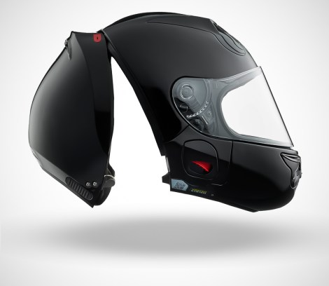 Gallery Foto Helm VOZZ_Black_side-open