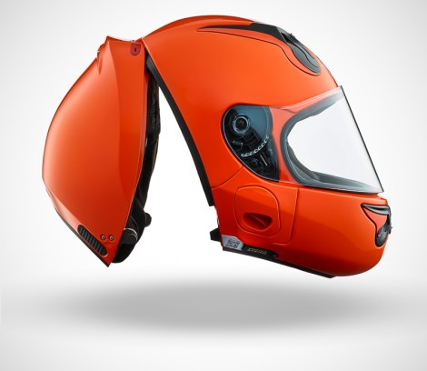 Gallery Foto Helm VOZZ_Orange_side-open