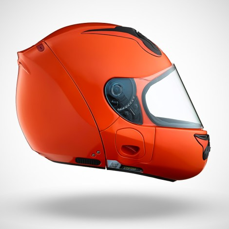 Gallery Foto Helm VOZZ_Orange_side