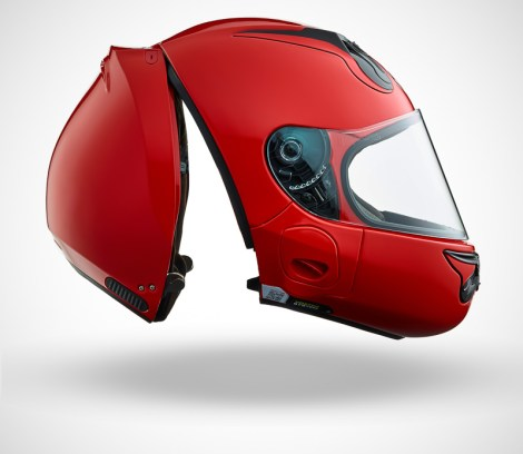 Gallery Foto Helm VOZZ_Red_side-open