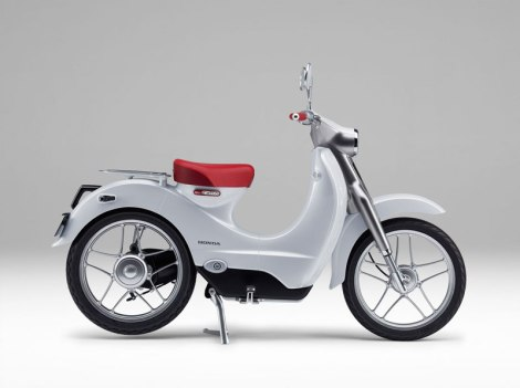 Honda EV-CUB Electric Bike 2 Pertamax7.com