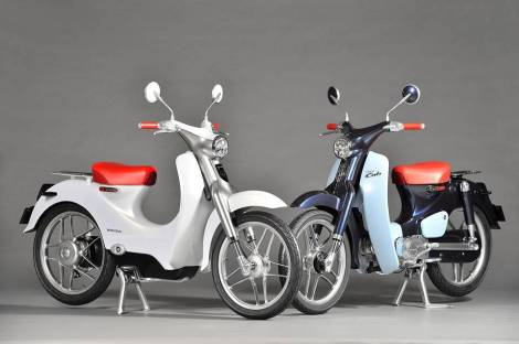 Honda EV-CUB Electric Bike 5 Pertamax7.com