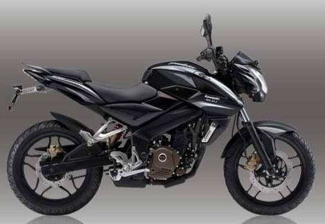 bajaj pulsar 200ns black
