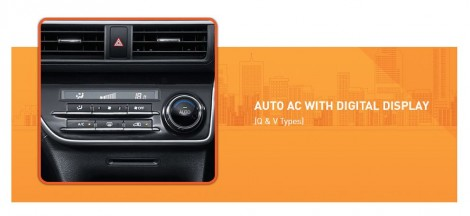 Auto AC with Digital Display Toyota Sienta Q and V Types