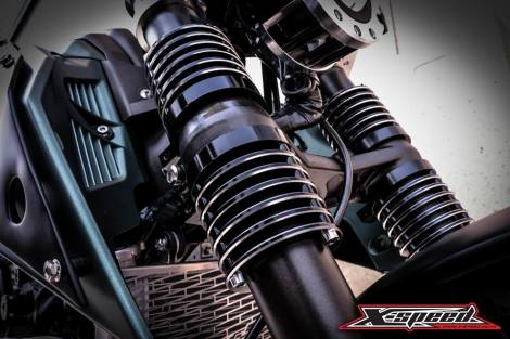 Modifikasi Yamaha Xabre Scrambler Concept Buntung Ala Minor Fighter 15 Pertamax7.com