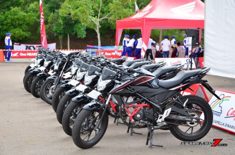 Modifikasi All New Honda CB150R Streetfire di Astra Honda Safety Riding Competition 2016 pertamax7.com