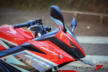 All New Honda CBR150R 2016 Warna Merah Racing Red 38 Pertamax7.com