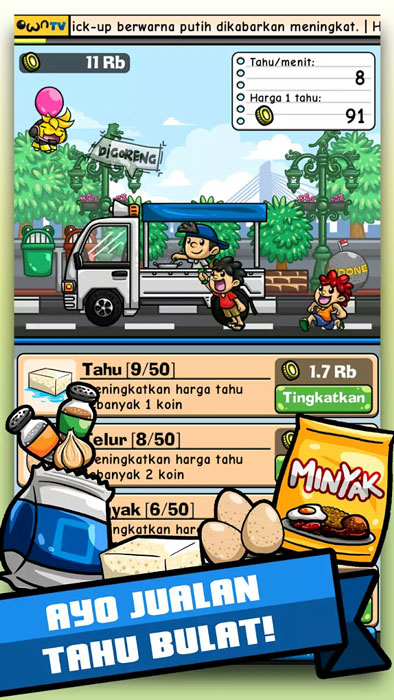 SS Game Tahu Bulat own games Pertamax7.com 1