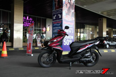 All New Honda Beat eSP 2016 Pink Pertamax7.com