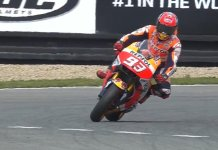 Foto dan Video Marc Marquez Hampir Crash di FP2 MotoGP Ceko 2016
