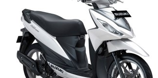 Suzuki Address Elegant Putih Briliant White pertamax7.com
