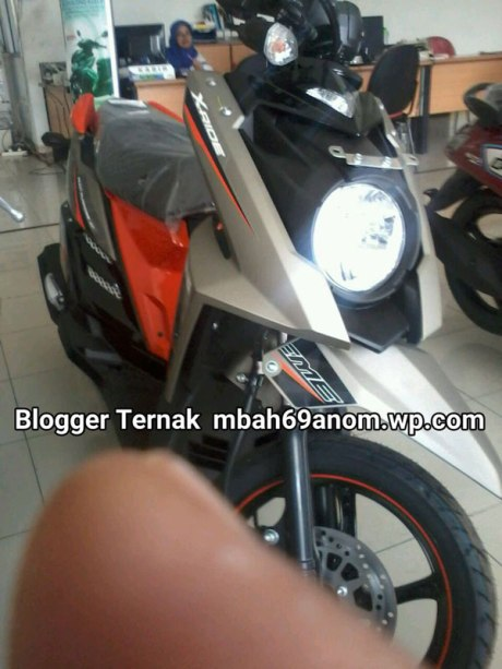 Warna Baru Yamaha X-Ride facelift 2016 gun metal orange pertamax7.com