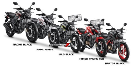 Warna All New Honda CB150R Streetfire Facelift 2016