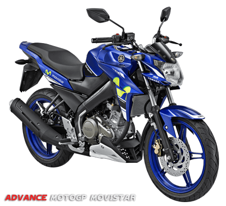Yamaha New Vixion Advance Livery Movistar Yamaha MotoGP 2016