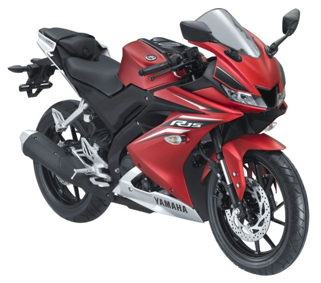 Yamaha All New R15 Matte Red